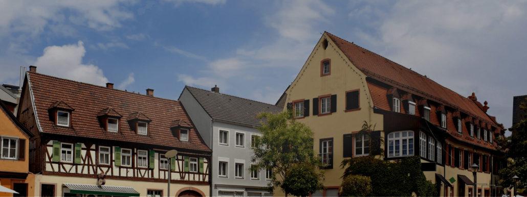 Altstadt in Offenburg