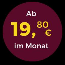 Störer ab 19,80 Euro