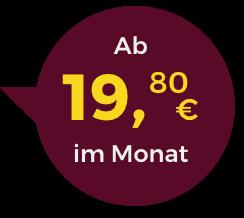 Fitpur Gallus ab 19,80€ im Monat