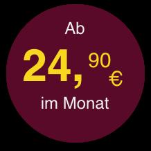 Störer ab 24,90 Euro